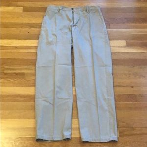 Dockers Relaxed Fit Flat Front Khaki Pants